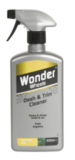 Rejuvenates all plastic &amp; PVC interior and exterior trim, leaving a subtle satin finish. A careful blend of active ingredients ensure a deep clean quickly and effectively. The multi use product is quick and easy to use and leaves a pleasant, fruity fragrance. <a href='car-care/interior/dash-trim-cleaner'>Read more</a>