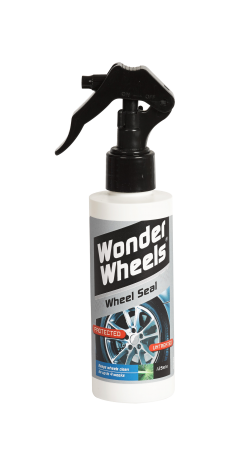 Wonder Wheels - Wheel Seal leaves an invisible, protective shield over the wheel surface, preventing the build up of stubborn road grime and dirt. It has been developed using the very latest in nano surface modification technology. Once applied Wheel Seal keeps wheels clean for up to four weeks, sealing and protecting the surface, making the wheels much easier to clean next time round. <a href='wheel-care/tyres/wheel-seal'>Read more</a>