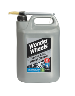 Used by the professionals, Wonder Wheels is an outstanding wheel cleaner that is easy to use. Wonder wheels is formulated for use on lacquered wheels, steel wheels and plastic trims. <a href='wheel-care/clean/alloy-wheel-cleaner-brush'>Read More</a>